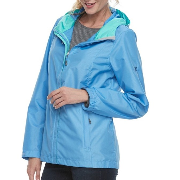 ZeroXposur Womens Ripstop Hooded Jacket